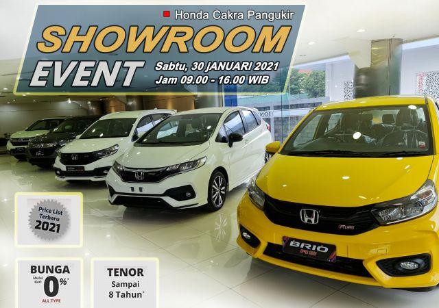 Showroom Event 31 Jan 2021