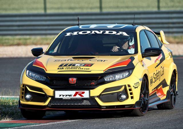 HONDA CIVIC TYPE R LIMITED EDITION MENJADI OFFICIAL SAFETY CAR PADA WORLD TOURING CAR CUP 2020
