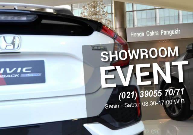 Jadwal Showroom Event, Pameran Honda Bulan Agustus 2017